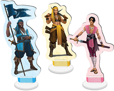 pirate standees
